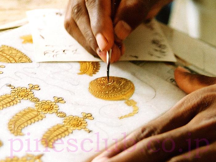 インド・細密画の制作風景