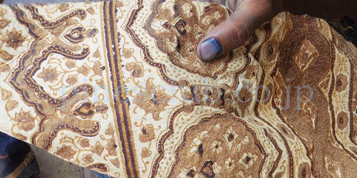 アジュラック布の製作工程5