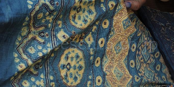 アジュラック布の製作工程7