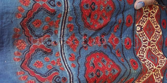 アジュラック布の製作工程15