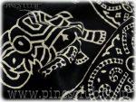 マルチカバー ブロックプリント インド 更紗 シングルサイズ CBC-0225