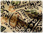 マルチカバー ブロックプリント インド 更紗 シングルサイズ CBC-0261