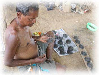インド・ドクラの制作過程