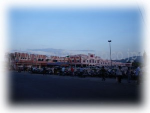 インド・ヴィシャカパトナム駅