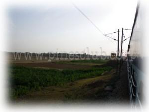 インド・ヴィシャカパトナム発キランドル行の列車