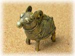 インド先住民族ドクラの鋳造工芸品 ミニ動物 ラクダ MTB-1159