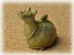 インド先住民族ドクラの鋳造工芸品 ミニ動物 ラクダ MTB-1161