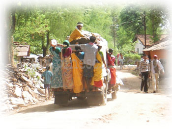 インド先住民の市場「ハート」