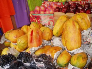 インドのフルーツ