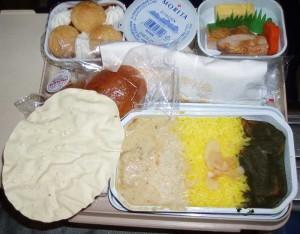 エアインディアの機内食