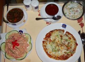 インドのピザ