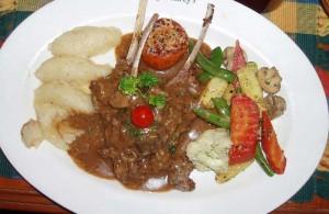 インドで食べたラムチョップ