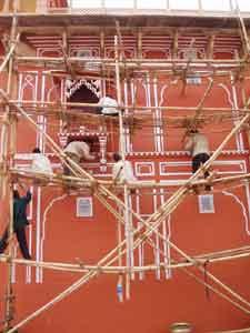 インド・ジャイプールのシティパレス