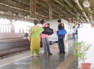 インド・デリーメトロの駅