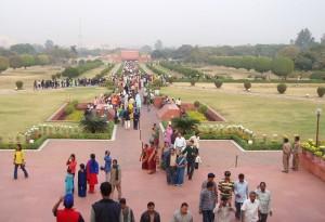 インド・デリーのロータステンプル