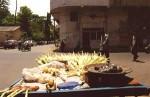 インドのトウモロコシ屋