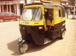 インド、ゴアのオートリキシャ
