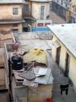 インド、屋上の置物