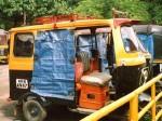 インド、南インドのオートリキシャ