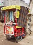 インド、移動式コンビニ