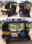 インド、ビカネールのオートリキシャ