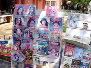 インド・ビカネールの本屋