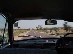 インド・ビカネールからの帰路