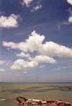 インド亜大陸最南端の海と空