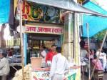インドのサトウキビジュース屋