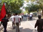 インドのデモ行進