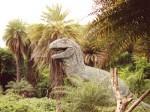 インド、動物園の恐竜