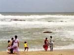 インド亜大陸最南端の浜辺