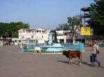 インド、ハリドワールのシヴァ神像