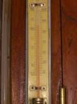 インドの寒暖計