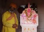 インド、サドゥーは祝福をお授けになった