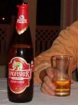 インドのビール「キングフィッシャー・ストロング」