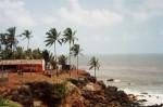 インド、アンジュナビーチ