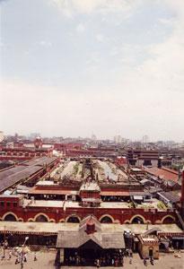 インド・コルカタのニューマーケット