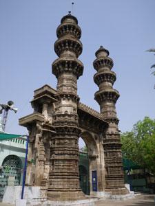 インド・アーマダバードのシディバシールモスク