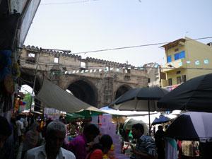 インド・アーマダバード旧市街