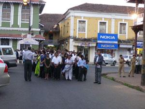 インド・パナジのキリスト復活祭