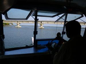 インド・アレッピからクイロンへの船旅
