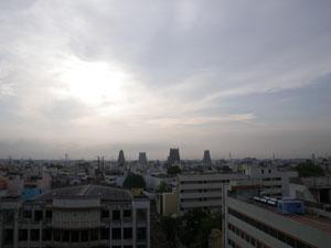 インド・マドライのホテル
