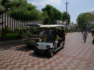 インド・マドライのミナークシ寺院