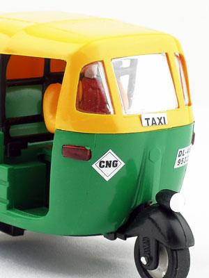 インド・オートリキシャのおもちゃ