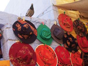 観光地特有の帽子