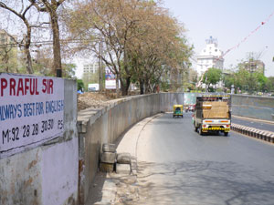 インドの地下道