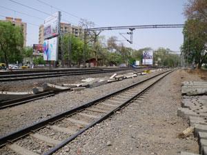 インドの線路