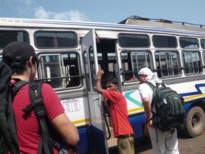 ゴア州マプサのバス・ターミナル