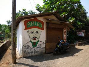 アンジュナ・ビーチの谷村新司